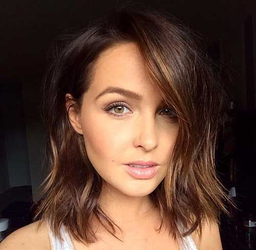 25 Best Ideas About Long Brown Bob On Pinterest Long Brown Hair