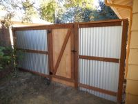 25+ best ideas about Corrugated Metal Fence on Pinterest ...