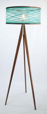 Tripod Floor Lamp - Aqua | Floors, Floor lamps and Lighting