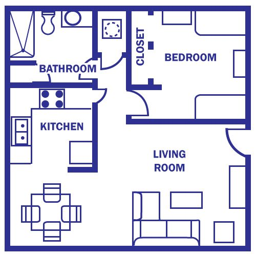 25 Best Ideas About One Bedroom House Plans On Pinterest One