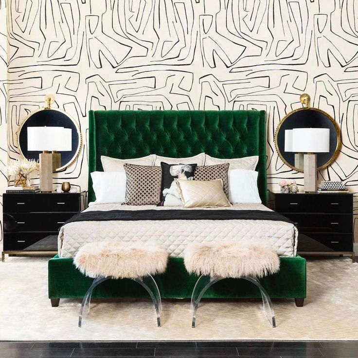 25 best ideas about Emerald Bedroom on Pinterest Green
