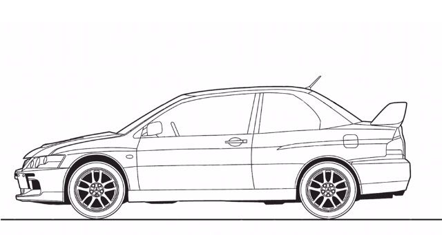 16 best images about Car drawing on Pinterest