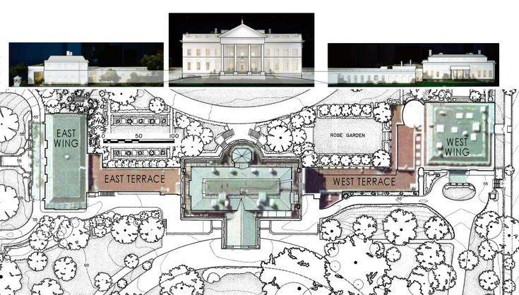 The White House Floor Plan
