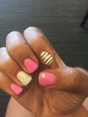 1000 ideas pink gel nails