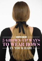 5 gorgeous ways wear bows
