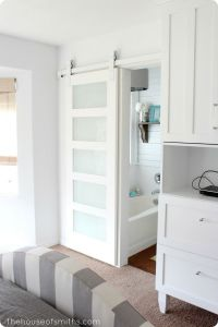 25+ best Sliding bathroom doors ideas on Pinterest