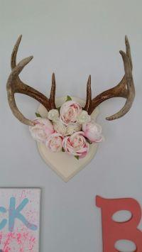 10+ ideas about Deer Horns Decor on Pinterest | Deer decor ...
