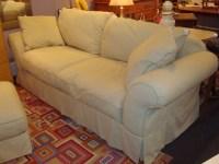 Overstuffed Sofa And Loveseat; Smileydot.us