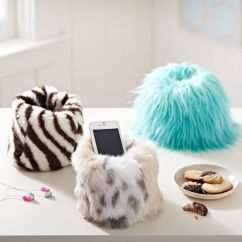Pottery Barn Bean Bag Chair Crate And Barrel Dining Table Chairs Fur Beanbag Cell Phone Holder #pbteen | Arctic Pinterest My Christmas Wish List, The Girl ...