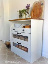 25+ best ideas about Vegetable storage on Pinterest