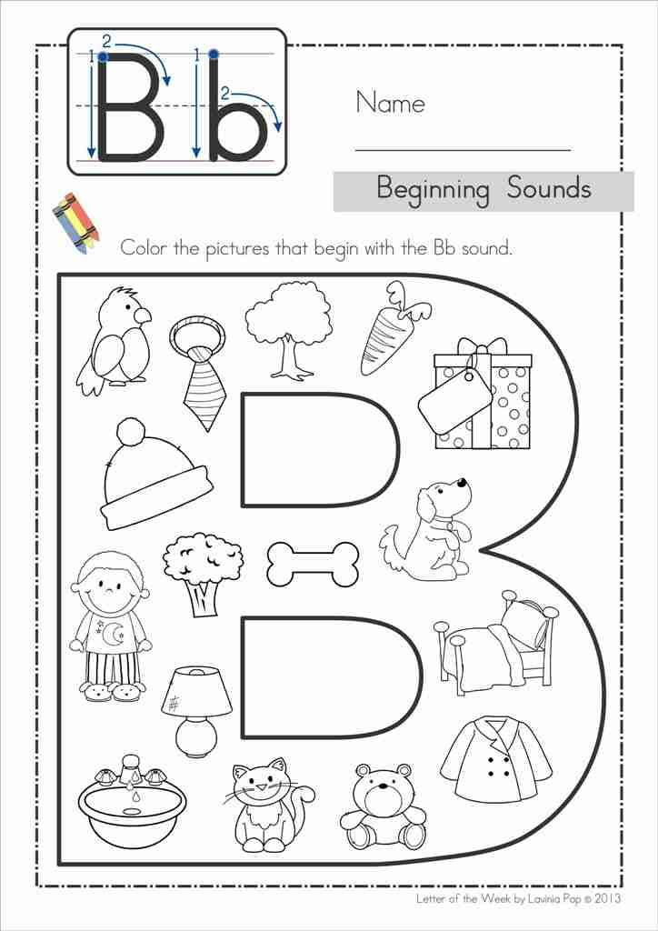 Phonics Letter of the Week Bb {FREE}. A HUGE unit (81