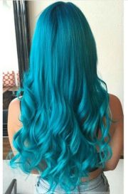 ideas teal hair
