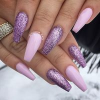 17 Best ideas about Purple Nail Designs on Pinterest