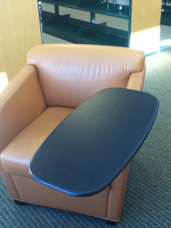 stand up desk chairs pool chair accessories with laptop rest. tablet arm | ergonomic comfort pinterest wheels, and ...