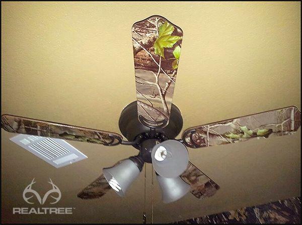 Camo Ceiling Fan