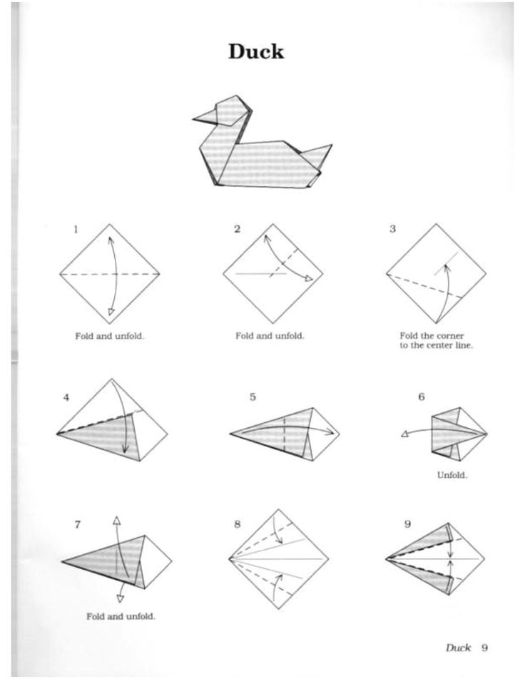 Christmas Origami Diagrams