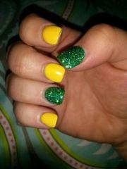 1000 ideas green toe nails