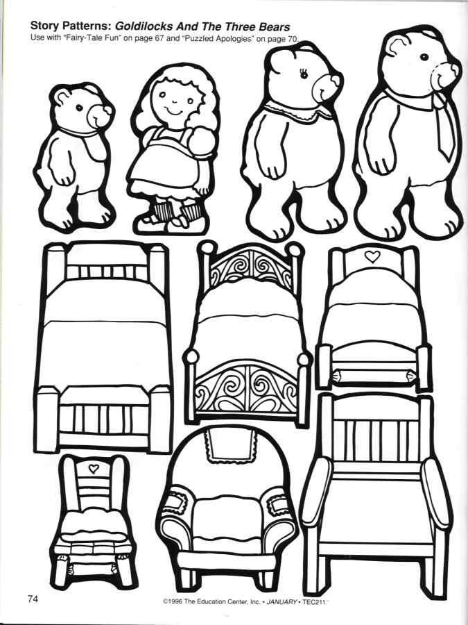 Goldilocks and the Three Bears Story Patterns...I wish I
