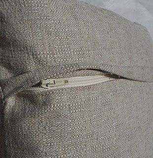 Hidden zipper tutorial -tried and tested, works a treat, I'm gonna make all my cushion covers with this zip finish,a good