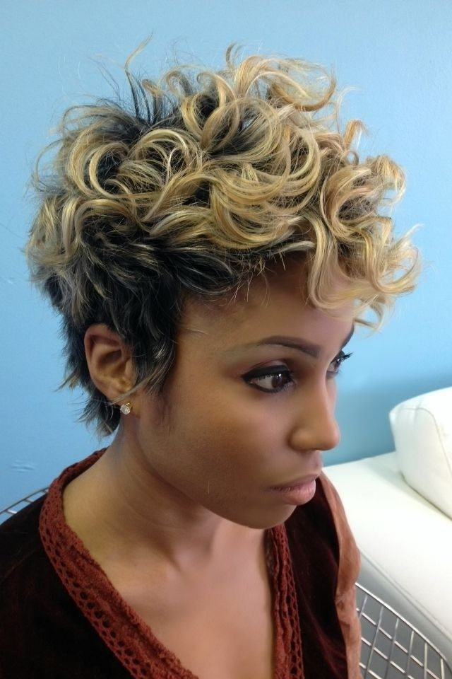 148 Best Images About African American Short Hair Cuts On