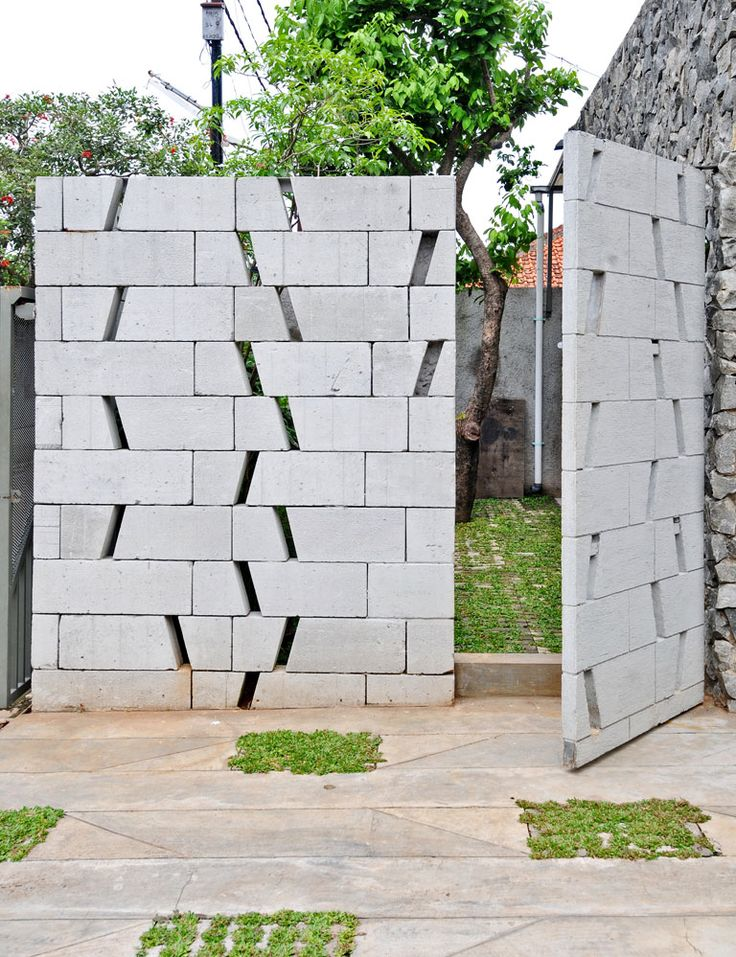 Contoh Pagar Beton Images  rumah minimalis