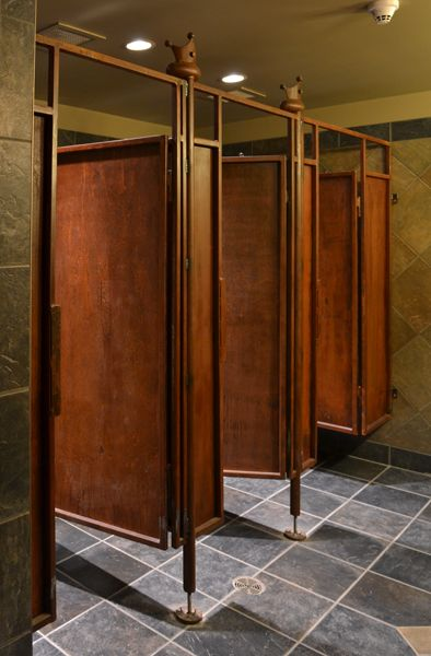 Some great pictures of the pub project  The Pub Bathroom Stall and Stalls