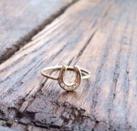 17 Best ideas about Horseshoe Ring on Pinterest