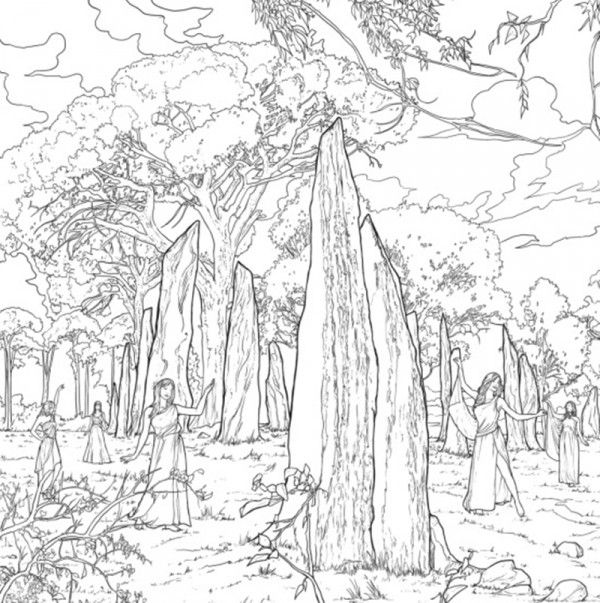 1000+ images about Outlander Coloring Book on Pinterest