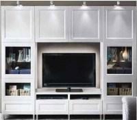 Entertainment Center from Ikea | KJ Condo | Pinterest ...