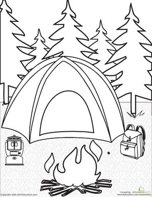 Coloring, Nature and Tent on Pinterest