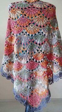 1000+ ideas about Crochet Shawl Diagram on Pinterest ...