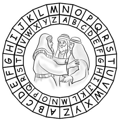 Joseph's Family Reunion Puzzle Page Genesis 39-41 (NIV