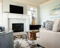 Gorgeous Painting Tile Around Fireplace Design Ideas ...