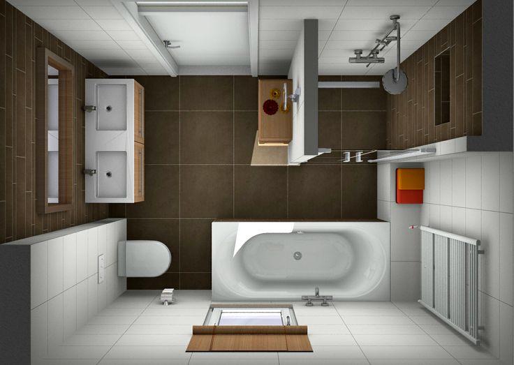 Badkamer ontwerpen bij Van Wanrooij Ook je eigen badkamer