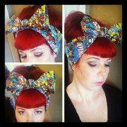comic marvel headwrap bandana hair