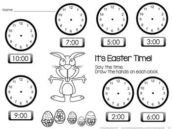 17 Best images about Easter Math Ideas on Pinterest