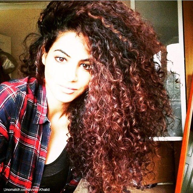 1000 Ideas About Annie Khalid On Pinterest Curls