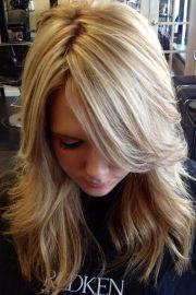 pretty blonde highlights love