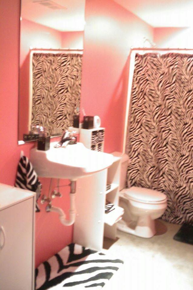 1000 ideas about Zebra Print Bathroom on Pinterest  Zebra bathroom Bath accessories and Zebra