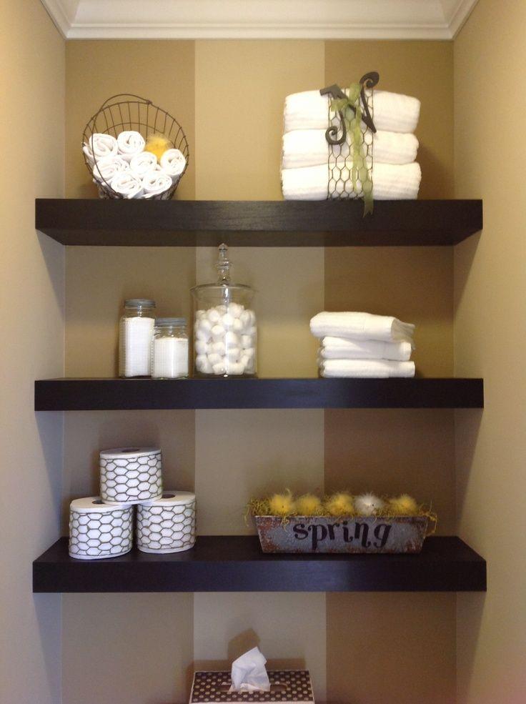 1000 ideas about Floating Shelf Decor on Pinterest