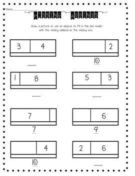 Math test, Models and Worksheets on Pinterest