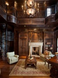 Two story home library . . .I would die | Home Library ...