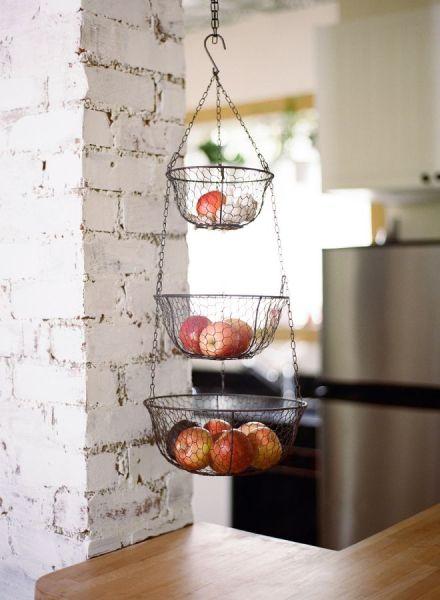 hanging kitchen basket Best 25+ Hanging fruit baskets ideas only on Pinterest