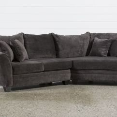 Room And Board Metro Sofa With Chaise Pillows For Dark Leather Belleview Graphite 2 Piece Sectional W/raf Cuddler - Dream ...