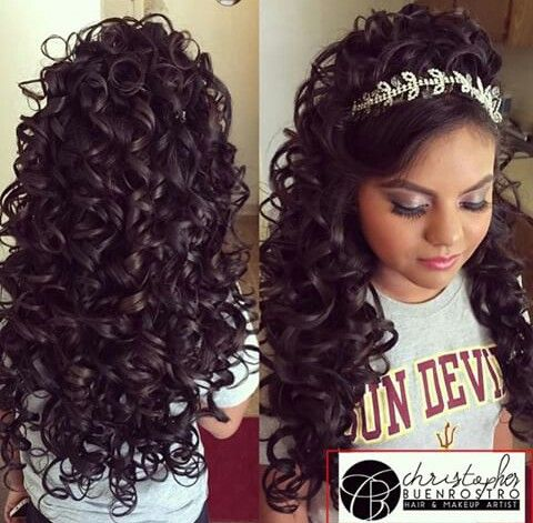 30 Sweet 16 Hairstyles Bump Hairstyles Ideas Walk The Falls