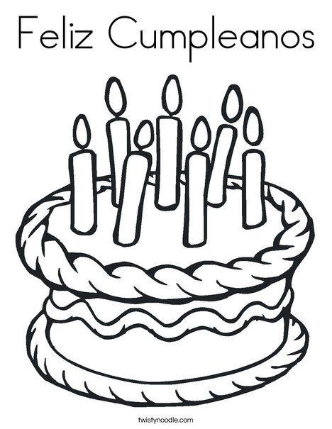 Feliz Cumpleanos (Happy Birthday in Spanish) #