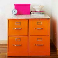Painted file cabinets | fab trendy redo's | Pinterest ...