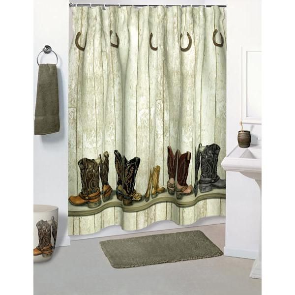 Western Bathroom Curtains