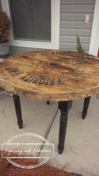 Best 25+ Spool tables ideas on Pinterest | Wooden spool ...