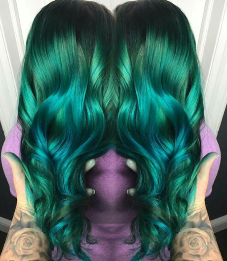 1000 ideas about Emerald Hair on Pinterest  Dark green